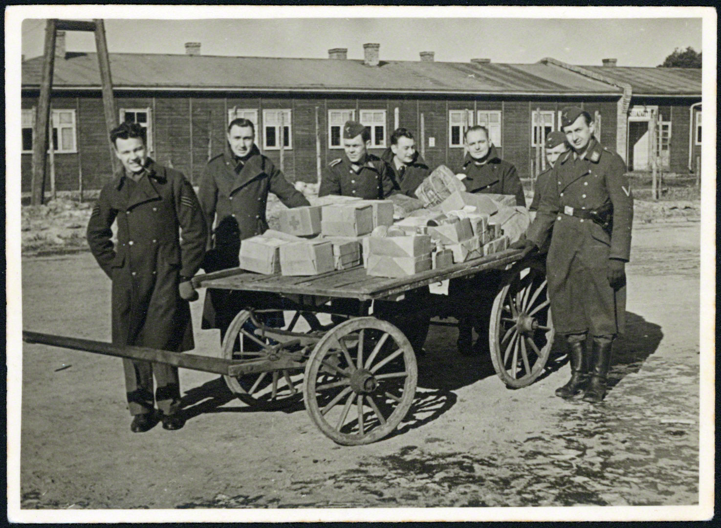 Red Cross parcel delivery