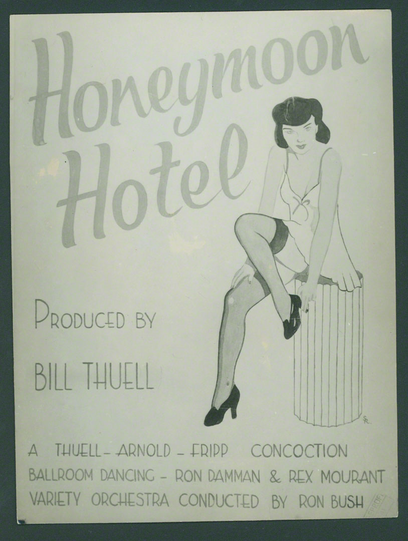 Bill poster for Honeymoon Hotel