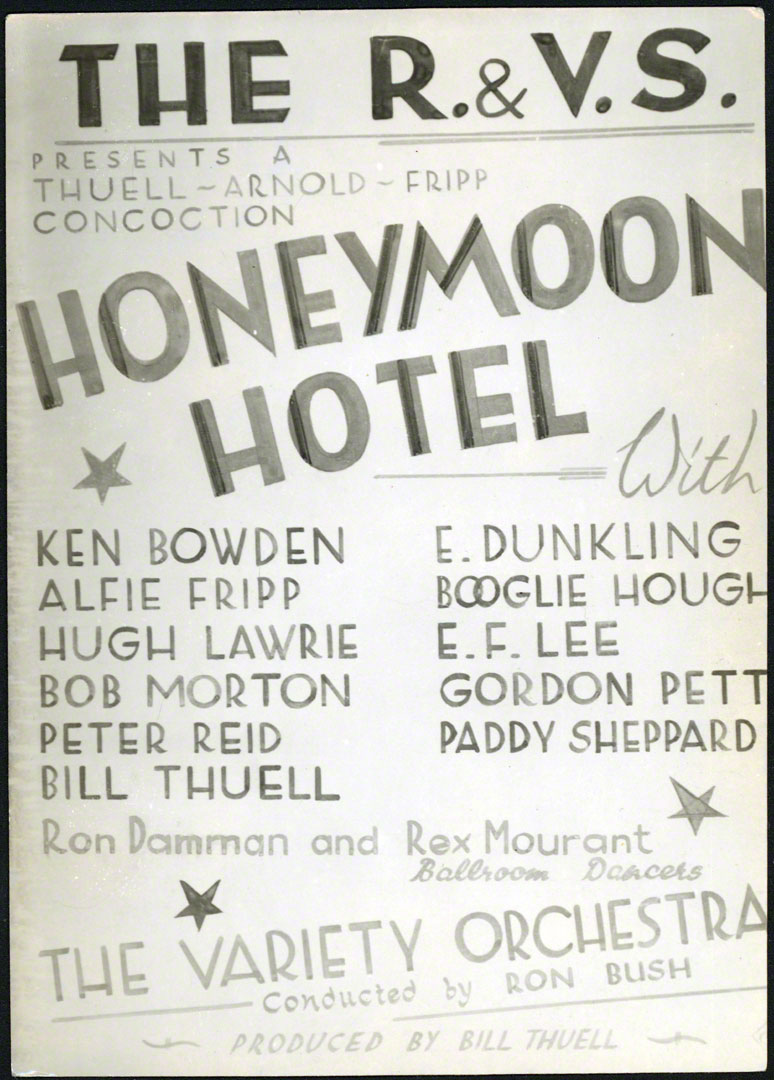 Honeymoon Hotel cast