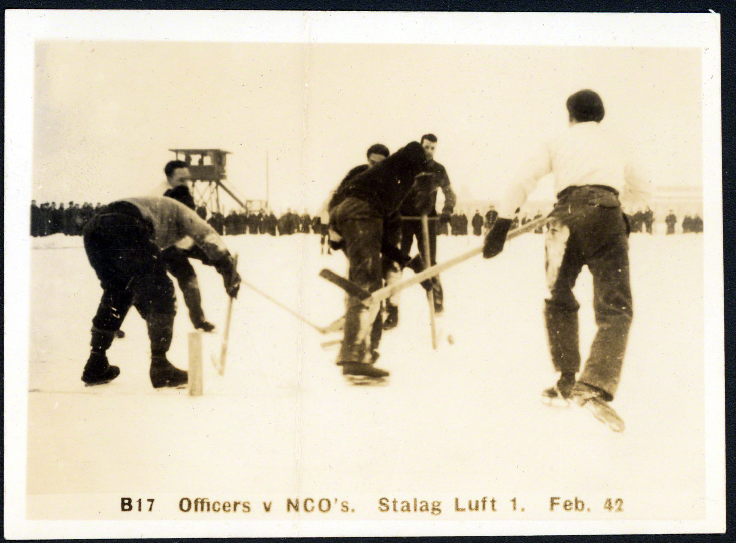 Officer vs NCOs at Stalag Luft I